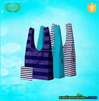 nylon reusable fold shopping bag
