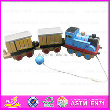 2015 New and popular wooden train toy for kids,locomotive toy&toy locomotive train toy,Hot sale funny wooden toy train WJ278744