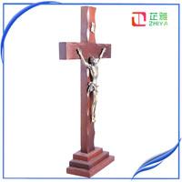 holy spirit wooden standing cross
