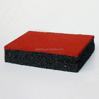 Recycled Waste Tire Rubber Flooring FN-E-15102509