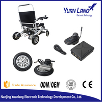 Brushless electric wheelchair hub motor 24v with wheels and tyres