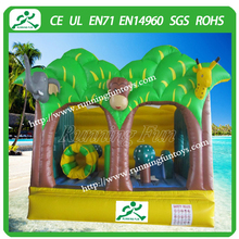 2015 Hot Sale Park Inflatable Jumping Bouncy Halloween Castle