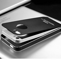 Shining Polished Silver Line New Fair Phone Case Rare Mobile Phones Alumnium Metal Case for Iphone 5 5S