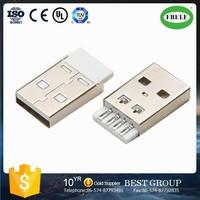 FBUSBA1-105 mini usb receptacle USB connector female usb to ethernet adapter(FBELE)
