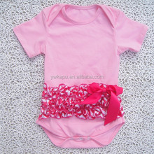 2015 new style summer cotton baby short sleeve romper,organic cotton baby clothing