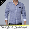 Alibaba hot sale fashionable business latest casual shirts designs for men