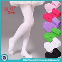 Wholesale girls rainbow seamless pantyhose, south korean girls tights pantyhose made in China