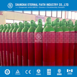 Made In China High Quality 5L High Pressure Seamless Steel Argon Gas Cylinder Industrial Gas Bottle