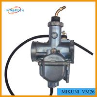 2015 China Hot selling and high quality Dirt Bike Carburetor mikuni VM26 30MM