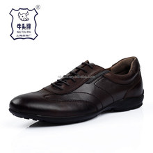 Trade Assurance Protect Comfortable Men Casual Leather Shoes