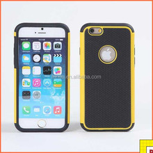 Colorful Football Grain Pc Silicon Back Cover For Iphone 6 Fashion Case
