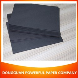 400gsm glossy Black Paper mill