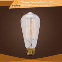Vintage new material for interior decoration pendant lamp,ST64 Squirrel Cage