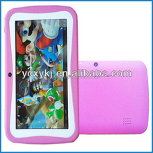 7inch Multi-touch Capacitive screen Rockchip 3126 Quad core 512M 4G kids tablet