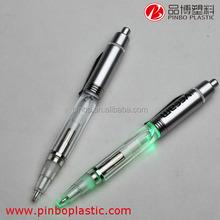 hot sale led light ballpoint pen refill,wholesale pen light writing in the dark,cheap custom light ball pen
