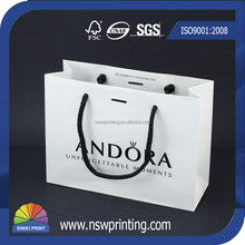 Customized Design Printed Shopping Small Packaging Bags