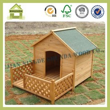 SDD10 Cheap Outdoor Wood Dog Kennels with Bowls