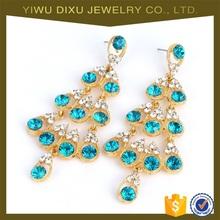 Yiwu Jewelry Factory Wholesale 2015 Newest Statement Earring Design Women Fashion Earring