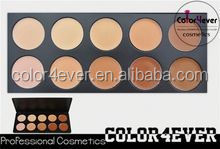High Quality 10 Color Concealer Palette Camouflage Make Up Tool name brand wholesale