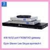New!!! 4/8/16/32 lines FXO voip gateway 8 channel analog pstn gateway