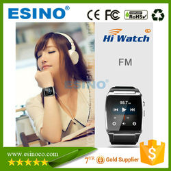 Touch screen gsm smart phone watch,GSM & Bluetooth Watch Smart Watch mobile phone
