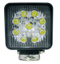 Hot sale 6000K 27W led work light Spot flood Offroad 4WD Suv light