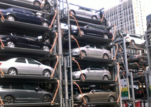 Freely Access Designated Parking Platform Vertical Rotary Parking System