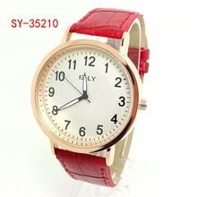 simple ely popular watch vintage wristwatch jelly watch with back lights SY-35210
