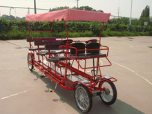 pedal quadricycle surry bike