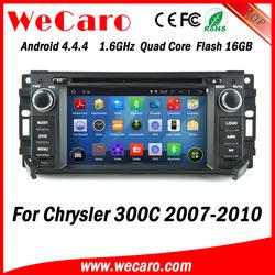 Wecaro WC-JC6235 Android 4.4.4 stereo indash car radio gps for chrysler 300c 2007 - 2010 BT gps 3g TV