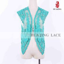 Tela productor elegante fábrica de calidad superior especializan blusas elegantes In Lace