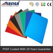 Alusign acp 2-6 mm panel thicknes kaca dan aluminium composite panel
