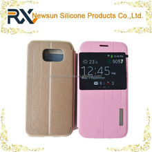 cellphone shipping box leather phone case for S6
