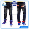 Wholesale denim guangzhou china manufacturer fashion robin jeans for kids for boy