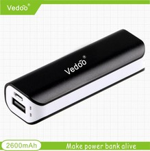 new product 2015 portable mobile phone charge power bank 2600mah