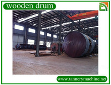 wet blue drums leather processing factory