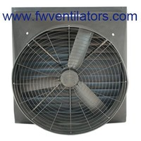 50inch Chicken House Ventilation Air Cooling Butterfly Cone negative pressure plastic greenhouse ventilation fan