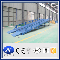 10 ton container ramp for forklift