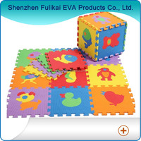 "12""*12"" Animal Design E-co Friendly Kids Play EVA Floor Mat/EVA Jigsaw Puzzle"
