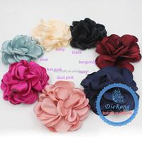 2015DIY fabric silk flower for clothing handmade flowers headband