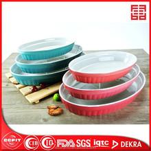 A prueba de calor de cerámica horno placa de cocción para microondas horno
