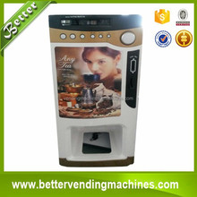 Best Coffee Powder Small Automatic Vending Machine for Cafe Offices