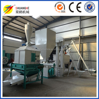Automatic feed mill Machine lines applied to Make Food for livestocks such as chicken pig sheep