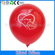 I LOVE YOU proposal engagement balloons