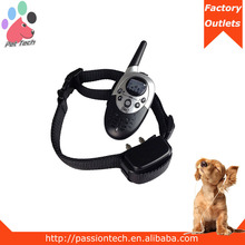 factory price 1000m remote control dog training collar shock up to 2 dogs
