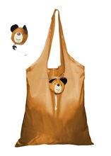 Cute bear pouch design custom new design foldable shopping bag 3