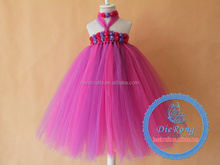 Rose flower baby tutu dress for Party/Birthday/Christmas evening
