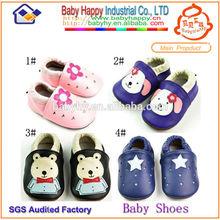 china alibaba caliente de ventas nueva moda suela suave bebé zapatos de cuero