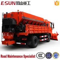 ESUN HZJ5120TCX Medium Snow Removal Vehicles with Snowplow and Spreader