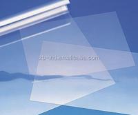 transaprent pet petg plastic board for rigid pvc sheet for binding